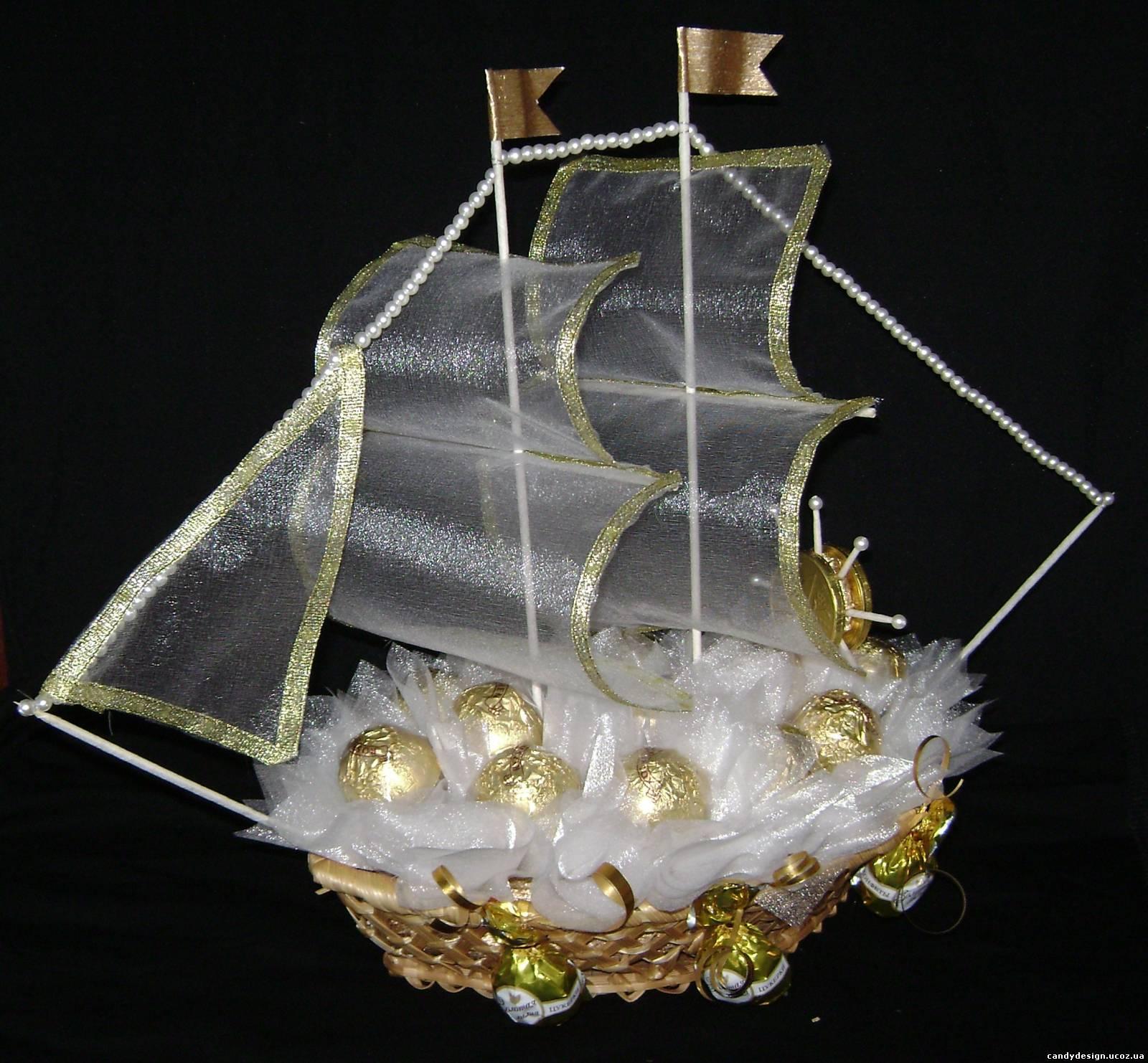 поздравление к подарку корабль из денег ценнее моменты